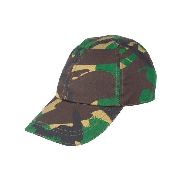 Children's camo hat in woodland DPM