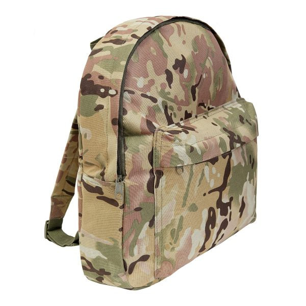 Children's camo rucksack in multi terrain DPM