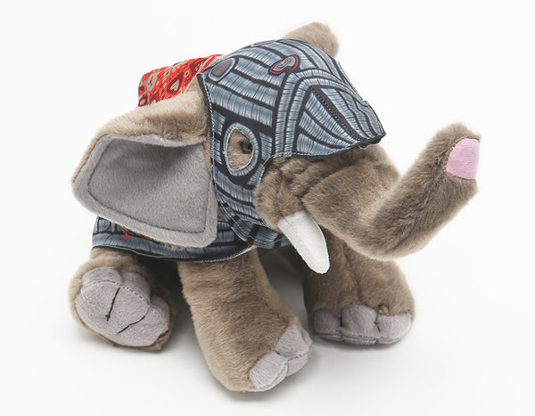 Royal Armouries armoured elephant stuffed toy