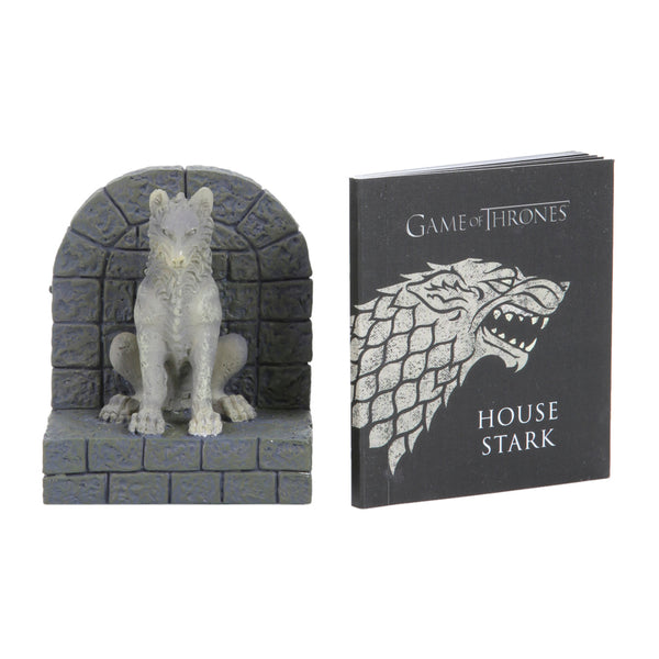 Stark Direwolf statue — Game of Thrones