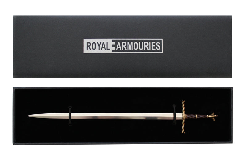 English arming sword letter opener — Royal Armouries collection