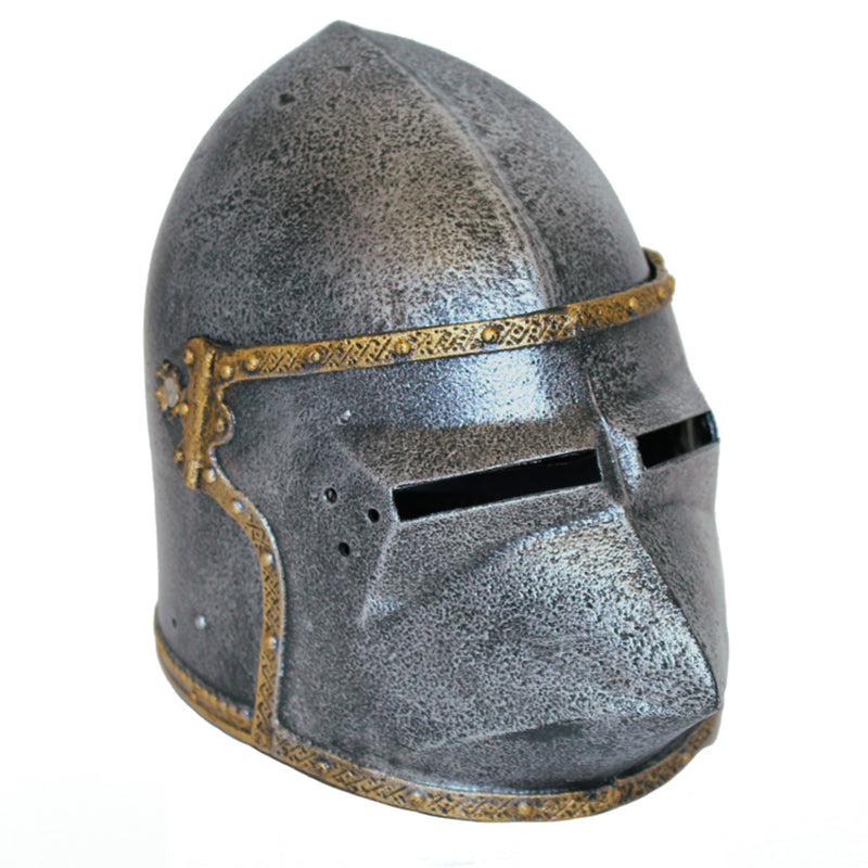 Pig-face helm deluxe children's helmet — with movable hinged visor