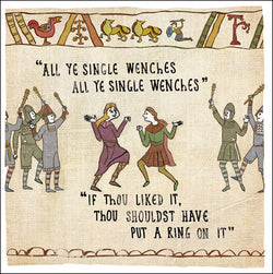 Single Wenches Card