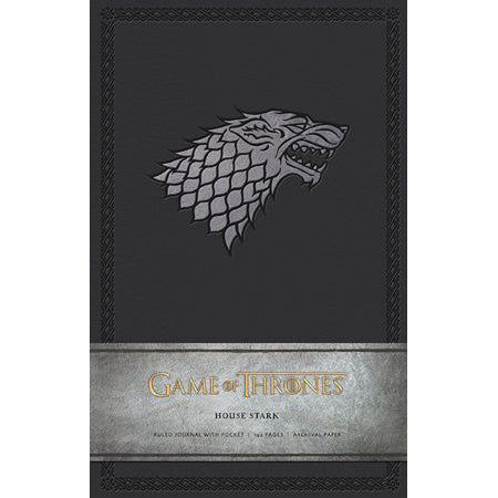 Pocket-sized Stark Sigil notebook – Game of Thrones