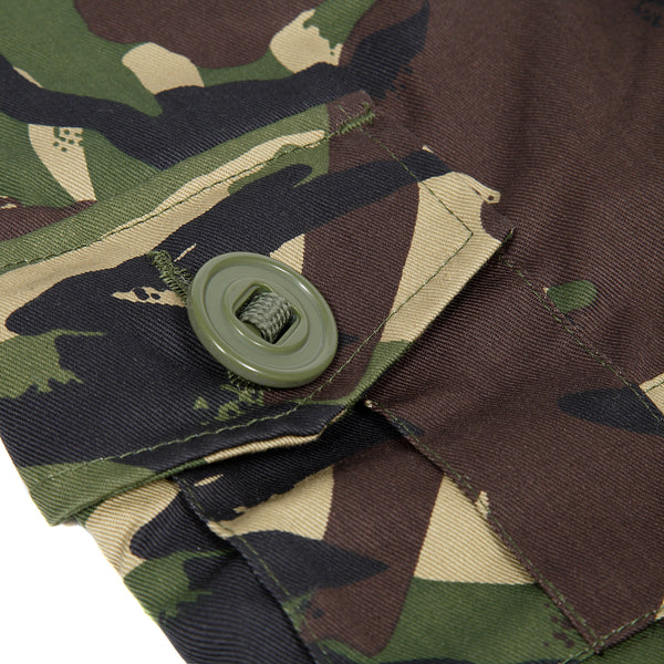 Children's camo trousers in woodland DPM