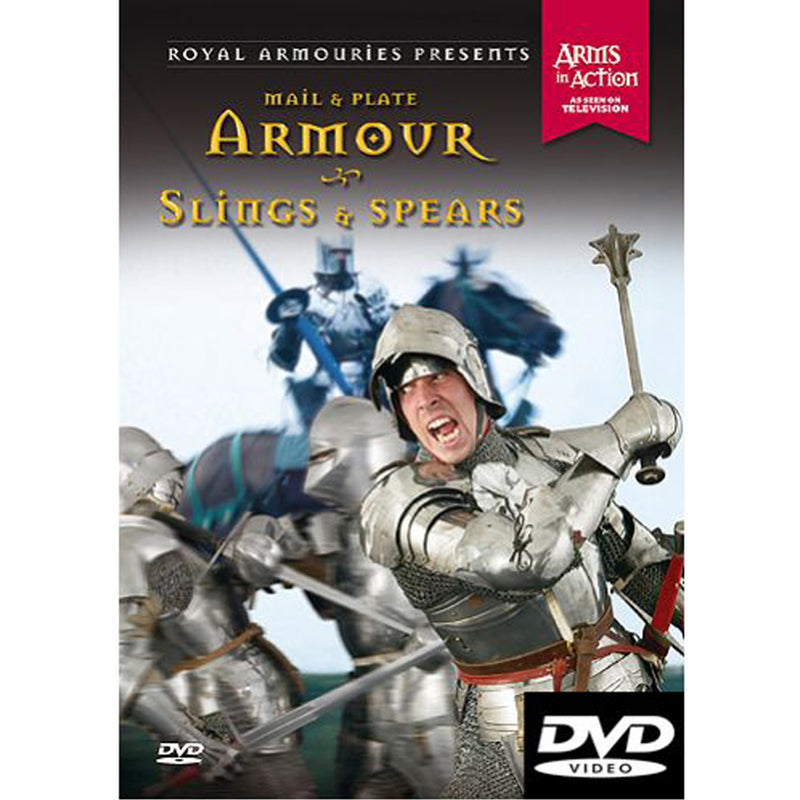 Mail and Plate Armour - Slings & Spears - Royal Armouries DVD