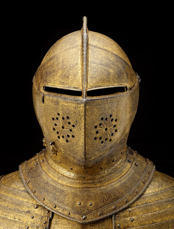 Face covering: Cuirassier armour of King Charles I