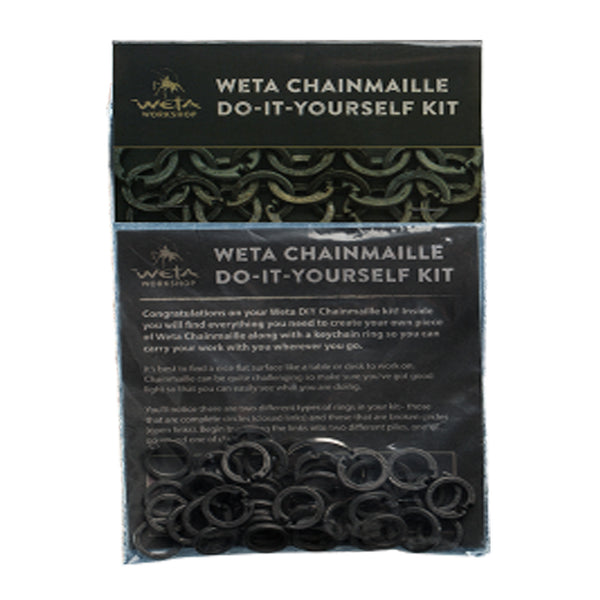 "Weta workshop chainmaille ""do-it-yourself"" kit"
