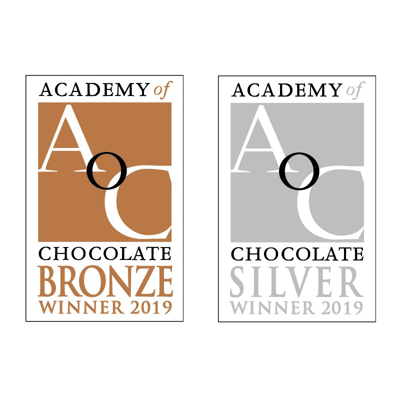 award winning chocolate badge