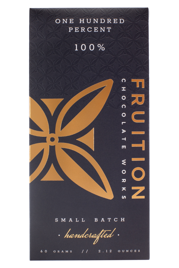 peruvian dark chocolate, 100 percent cacao from peru