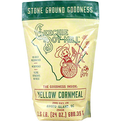 Geechie Boy Mill: Yellow Cornmeal - Fruition Chocolate
