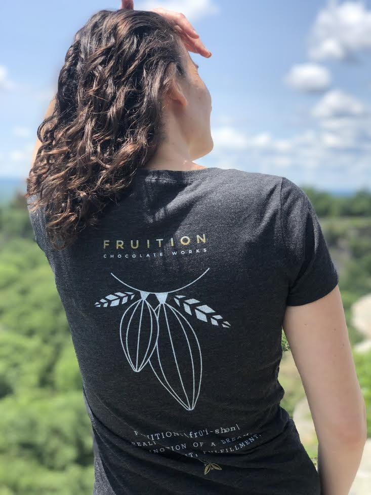 Short Sleeve Tee Shirt - Fruition Chocolate