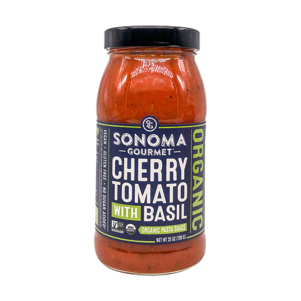 Sonoma Gourmet Cherry Tomato with Basil Sauce - Fruition Chocolate