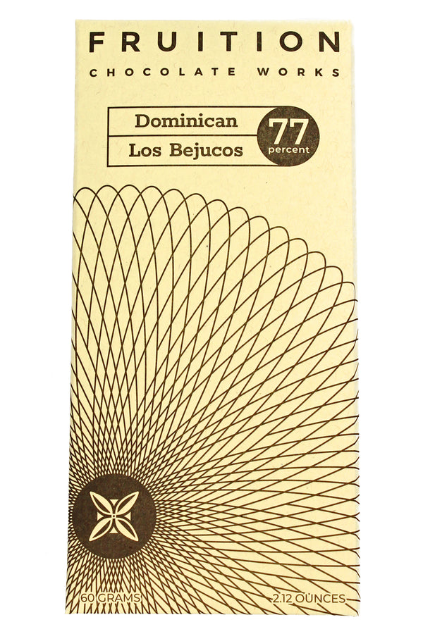 Dominican Los Bejucos Dark 77% - Fruition Chocolate