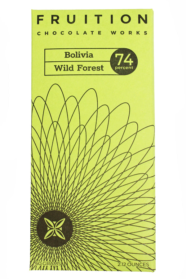 Bolivia Wild Forest Dark 74% - Fruition Chocolate