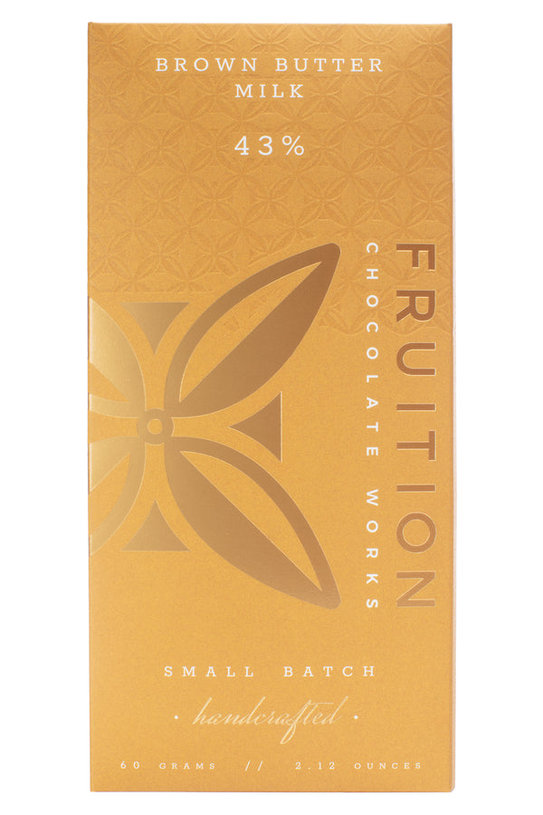 Brown Butter Milk Chocolate - Fruition Chocolate