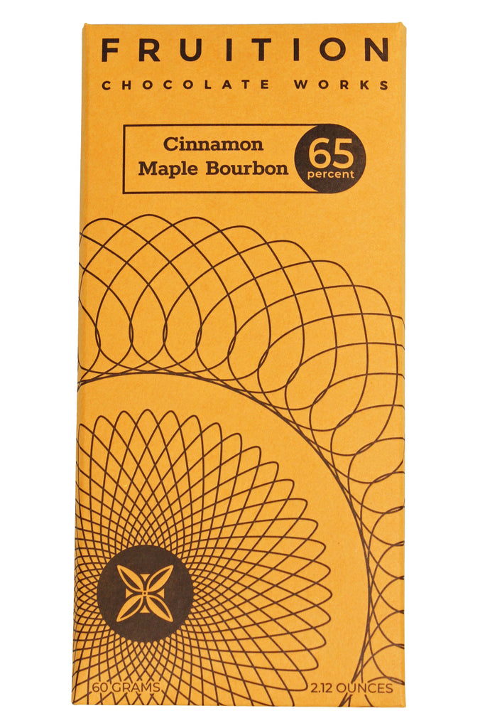 Cinnamon Maple Bourbon Dark Milk Chocolate 65%