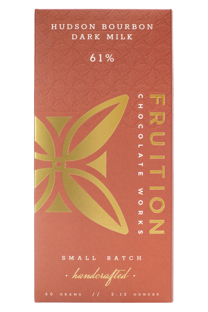 Hudson Bourbon Dark Milk 61% - Fruition Chocolate
