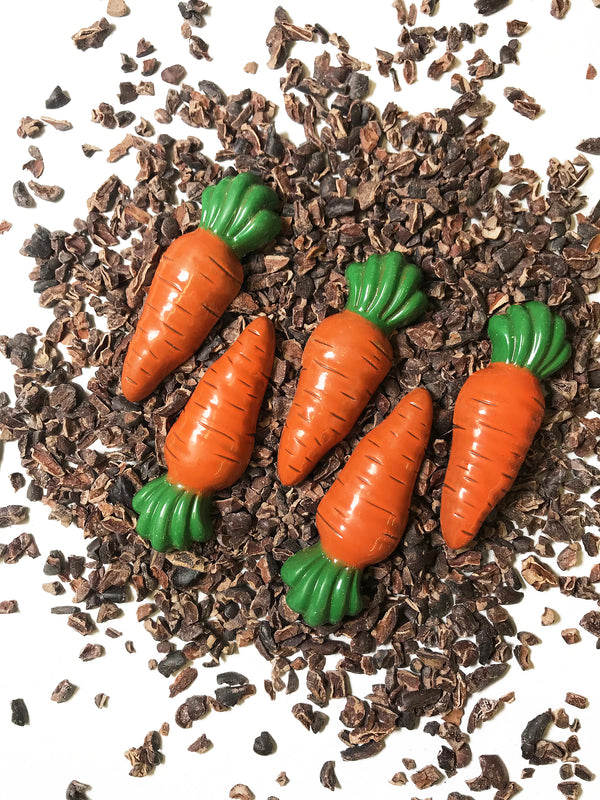 Milk Chocolate Carrots - Fruition Chocolate