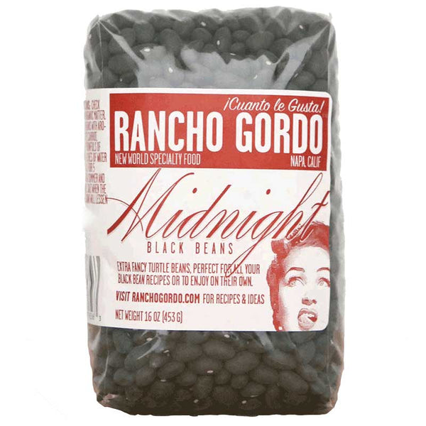 Rancho Gordo: Midnight Black Beans - Fruition Chocolate