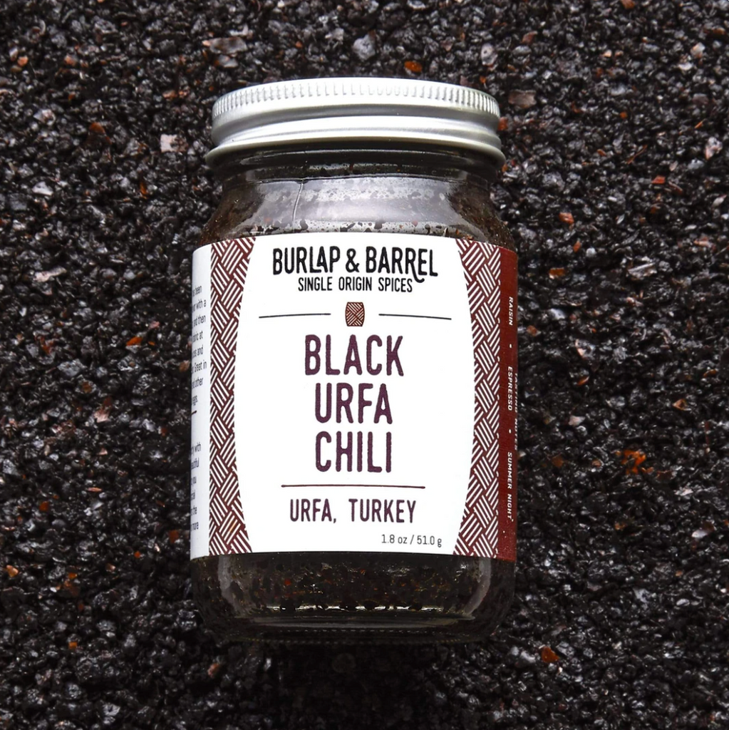 Burlap and Barrel: Black Urfa Chili - Fruition Chocolate