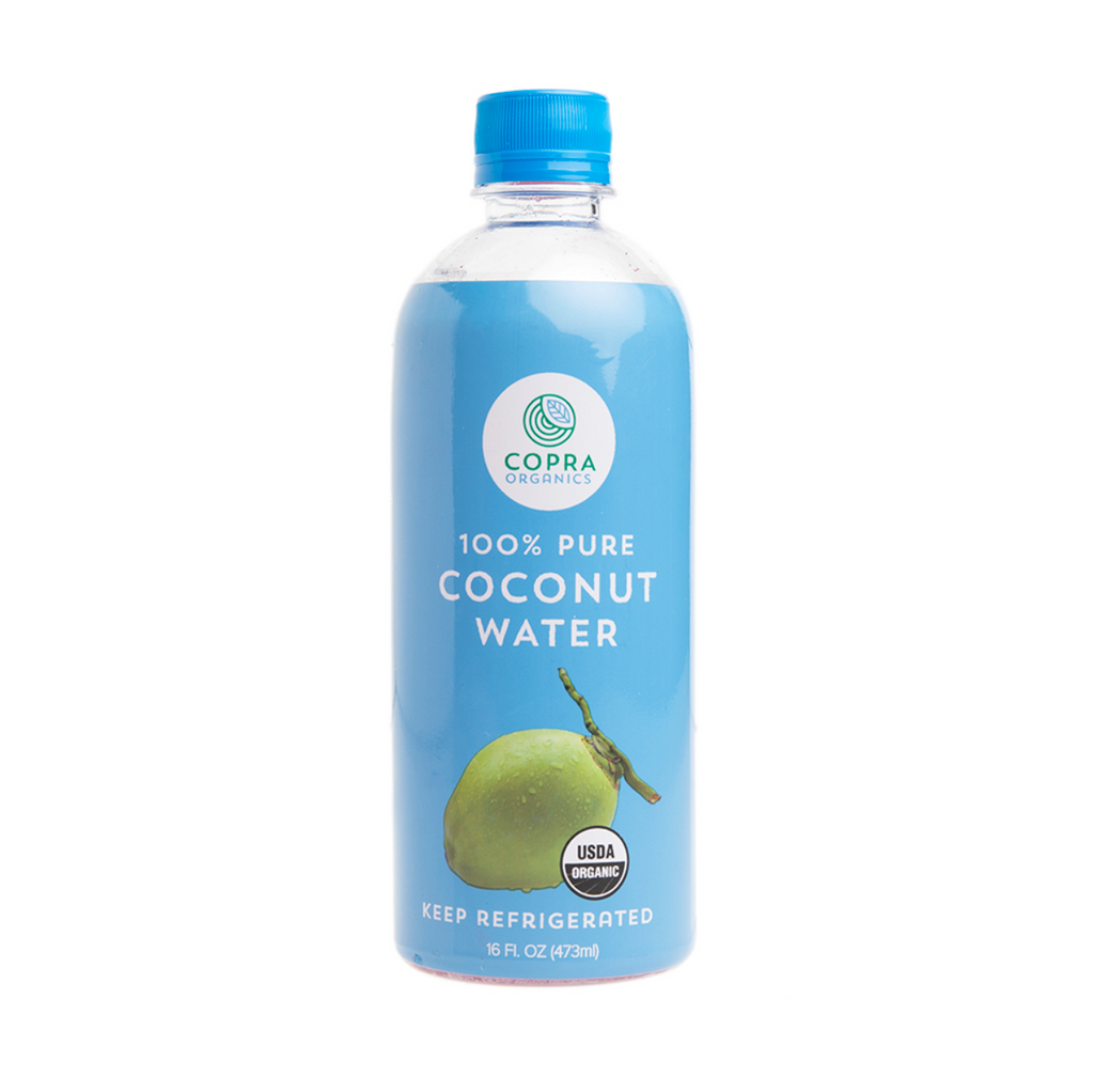 Copra: Coconut Water 16 oz. - Fruition Chocolate