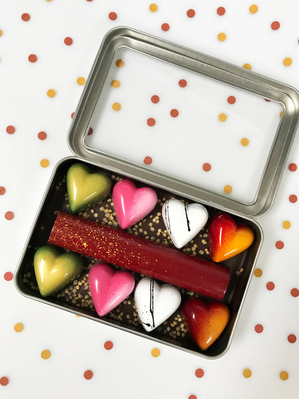 Valentine's Day Heart Collection - Fruition Chocolate