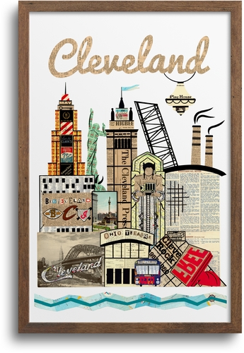 Cleveland Skyline - Special Edition Print & Notecards