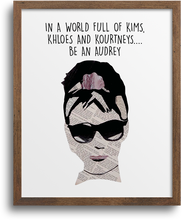 Load image into Gallery viewer, Be an Audrey Print & Greeting Card