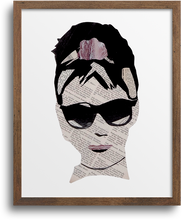 Load image into Gallery viewer, Audrey Hepburn Print & Notecards