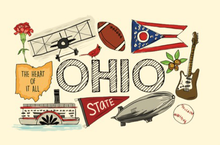 Load image into Gallery viewer, Ohio Canvas Pouch