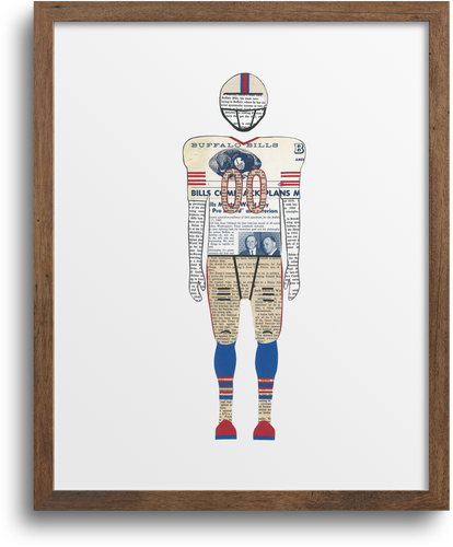 Buffalo Bills Print & Notecards