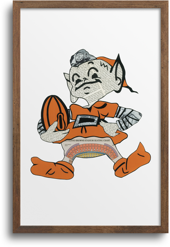 Cleveland Brownie Elf Prints & Notecards