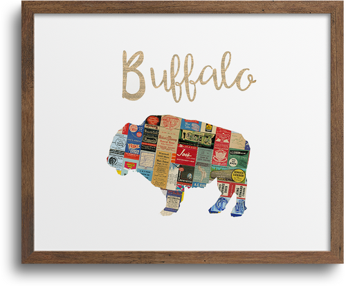 Buffalo Print & Notecards