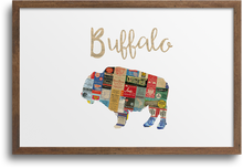 Load image into Gallery viewer, Buffalo Print & Notecards