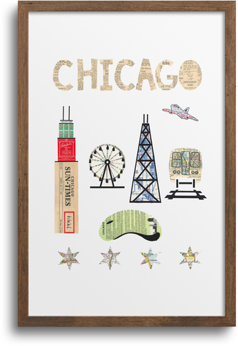 Chicago Fair Print & Notecards