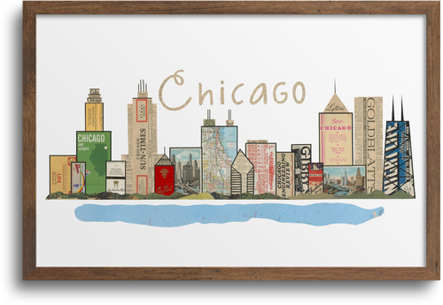 Chicago Skyline Print & Notecards