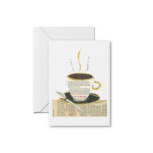 Morning Coffee Print & Notecards
