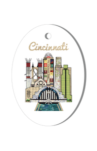 Cincinnati Holiday Ornament