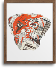 Load image into Gallery viewer, Cleveland Browns Dawg Prints & Notecards