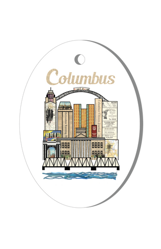 Columbus Holiday Ornament