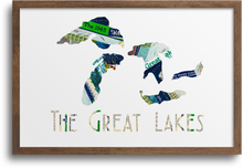 Load image into Gallery viewer, Great Lakes Prints & Notecards