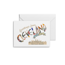 Load image into Gallery viewer, Greetings From Cleveland Prints & Notecards