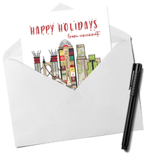 Load image into Gallery viewer, Happy Holidays from Cincinnati Card