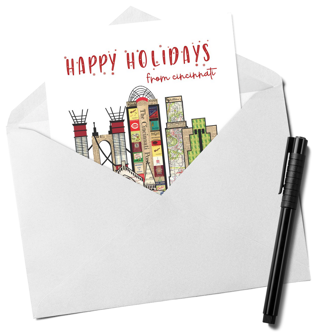 Happy Holidays from Cincinnati Card