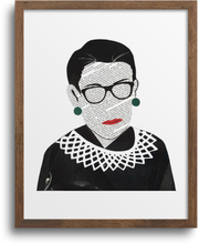 Load image into Gallery viewer, Ruth Bader Ginsburg Prints & Notecards