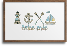 Load image into Gallery viewer, Lake Erie Horizontal Prints & Notecards