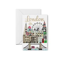 Load image into Gallery viewer, London Skyline Print & Notecards