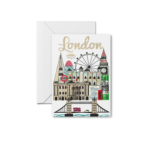 London Skyline Print & Notecards