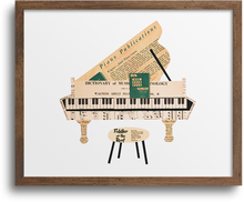 Load image into Gallery viewer, Piano Print & Notecards